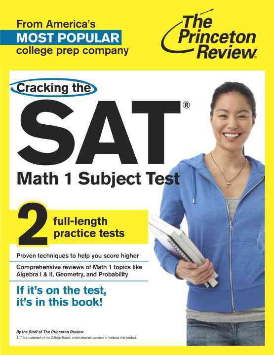 Princeton Review Cracking the Sat Math 1 Subject Test By Princeton Review (COR)